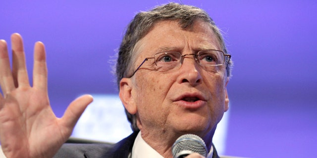 MAY 2013: Bill Gates speaks during Peterson Institute 2013 Fiscal Summit on Facing the Future in Washington.