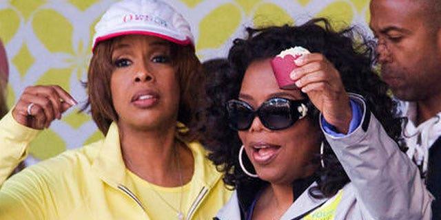 Gayle King and Oprah Winfrey (AP)