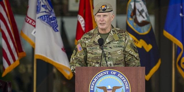 Army Gen. Tony Thomas.