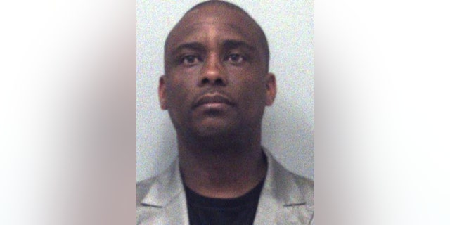 This undated photo provided by the Gwinnett County Sheriffs Department shows Victor Hill. The Atlanta-area sheriff was charged with a misdemeanor Wednesday in the shooting of a real estate agent at a model home. (Gwinnett County Sheriffs Department via AP)