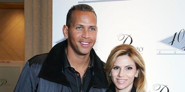 Alex Rodriguez and his ex, Cynthia Rodriguez.