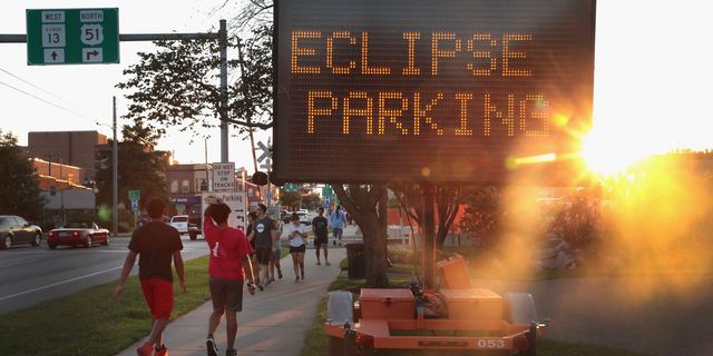 The total solar eclipse of Aug. 21 has arrived.