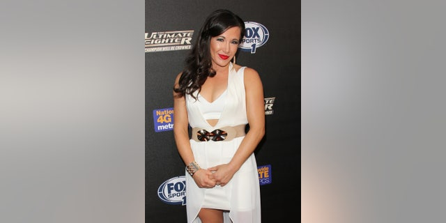 "UFC Fighter Angela Magana attends FOX Sports 1's ""The Ultimate Fighter"" season premiere party at Lure in Hollywood."