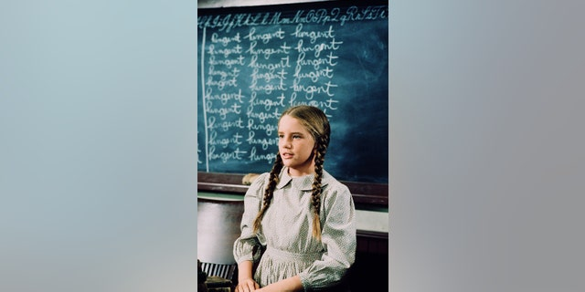 "Melissa Gilbert as Laura Elizabeth Ingalls Wilder in ""Little House on the Prairie."""