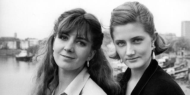 May 1985: Daughters of actress Vanessa Redgrave (L-R) Natasha Richardson & Joely Richardson.