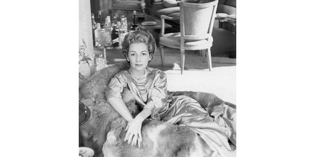 Leonard Bernstein's wife, Chilean actress Felicia Montealegre.