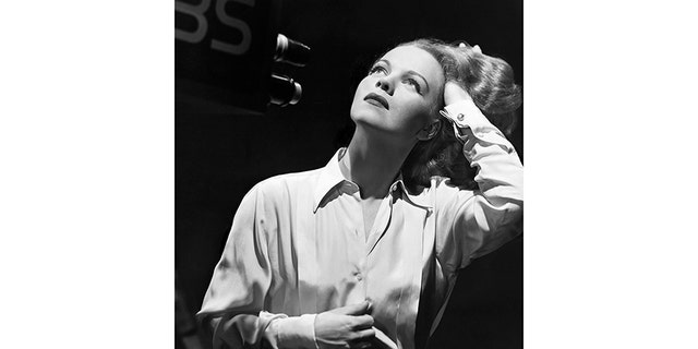 Actress Maria Riva, daughter of Marlene Dietrich.
