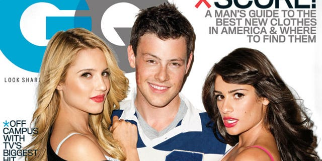 The female stars of 'Glee' were criticized for posing in their underwear in the November 2010 GQ magazine.