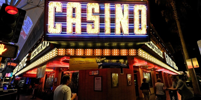 LAS VEGAS, NV - JULY 19:  A general view of a casino sign outside the Golden Gate Hotel & Casino on Fremont Street July 19, 2011 in Las Vegas, Nevada.  (Photo by Ethan Miller/Getty Images)