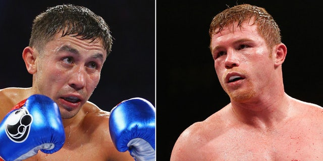 "Saul ""Canelo"" Alvarez and Gennady Golovkin. (Photos: Getty Images)"