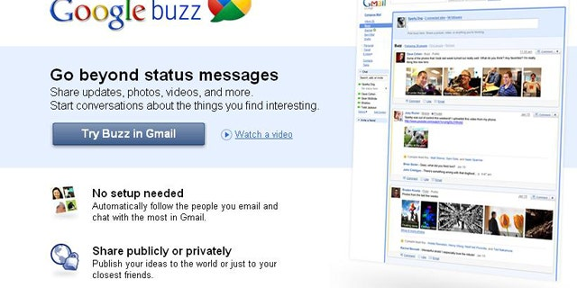 Google's new Buzz feature lets you share updates, photos, videos, and more.