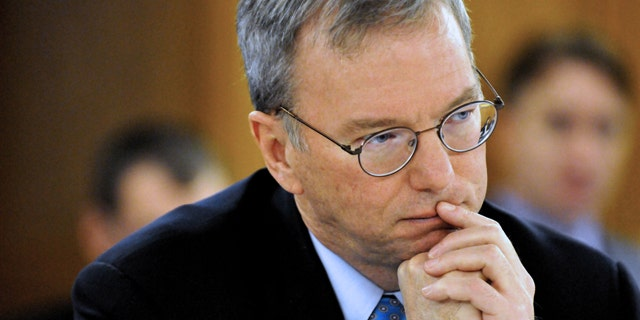 Nov. 30, 2011: Google Executive Chairman Eric Schmidt visited Washington to argue against Hollywood-backed legislation meant to combat online piracy.