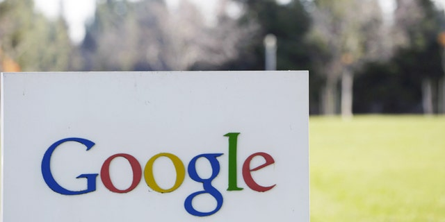Jan. 3, 2013: A Google sign at the company's headquarters in Mountain View, Calif.
