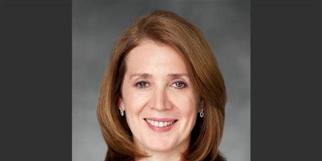 This 2012 photo provided by Morgan Stanley shows outgoing CFO Ruth Porat.