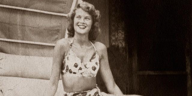 A teenage Grace Kelly.