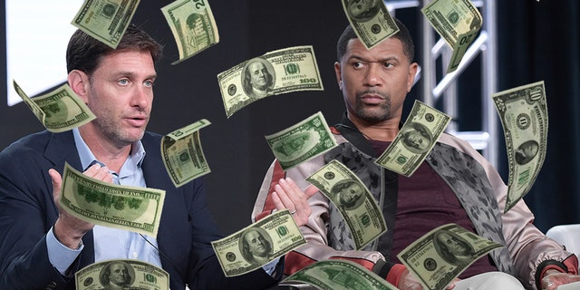 "Mike Greenberg and Jalen Rose will reportedly earn a combined $9.5 million to co-host ""Get Up!"" on ESPN."