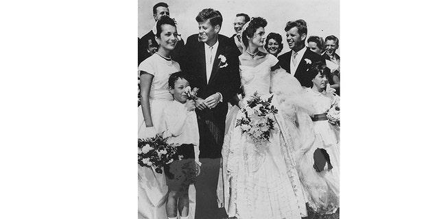Group photo on wedding day.
