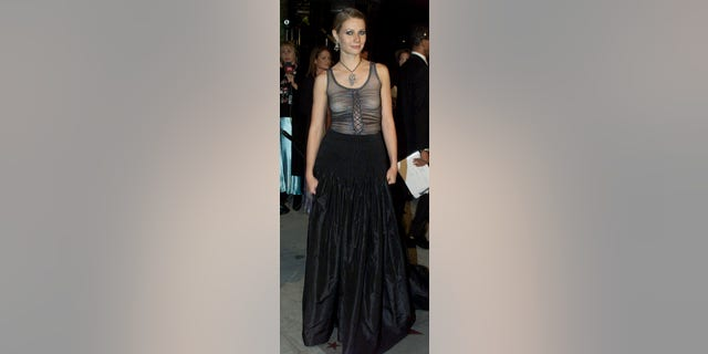 In 2013, Gwyneth Paltrow admitted she should have worn a bra with this sheer Alexander McQueen dress at the 2002 Oscars.