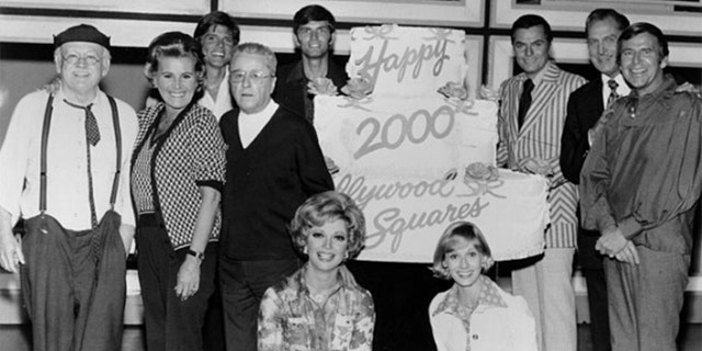 """The Hollywood Squares"" became a major hit on television."