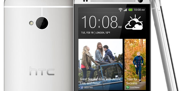 The HTC One, the flagship smartphone from the Asian technology powerhouse.