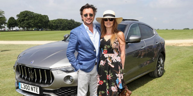 Richard Hammond and wife Mindy suspect they were the victims of a gas attack robbery.