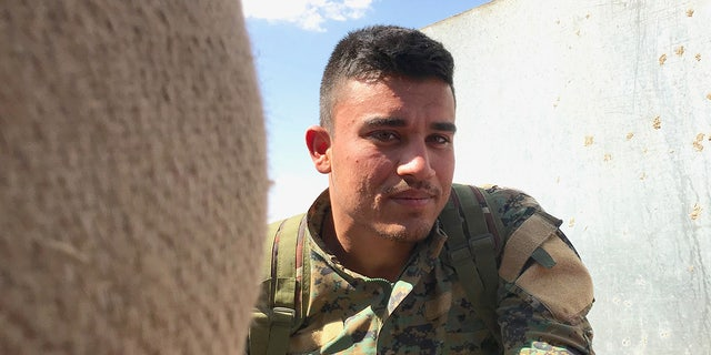 """""""They (ISIS) still attack us every day, any time of the day,"""" said Hassan, a soldier for the SDF. """"Sometimes mortar, sometimes rockets. Always lots of bullets."""""""
