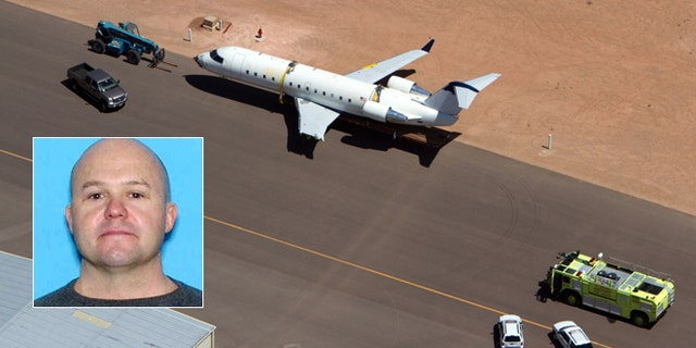 July 17: Brian Hedglin, 40, scaled a razor wire fence at the St. George Municipal Airport in Utah early Tuesday, then boarded the 50-passenger SkyWest jet while the airport was closed, authorities say.