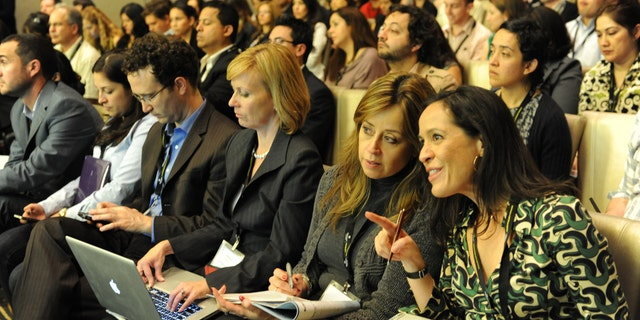 Participants in the Hispanicize 2011 conference. (Courtsey of Hispanicize)