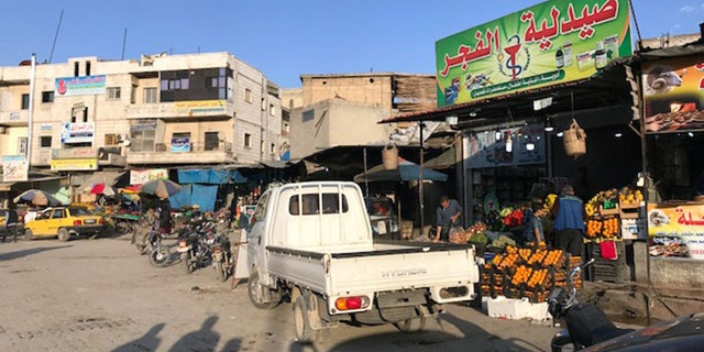 While much of Syria remains plagued by changing checkpoints and intermittent bombing, Manbij remains a bustling yet seemingly calm city.