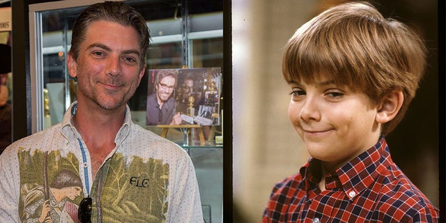 """Former child star Jeremy Miller,best known for his portrayal of Ben Seaver on the hit '80s sitcom """"Growing Pains,"""" was spotted at the Hollywood Museum for their """"REAL TO REEL"""" exhibition.<a data-cke-saved-href=""""https://www.etonline.com/gallery/201803_cue_the_nostalgia_favorite_tv_reunions"""" href=""""https://www.etonline.com/gallery/201803_cue_the_nostalgia_favorite_tv_reunions""""><strong>MORE: CUE THE NOSTALGIA! FAVORITE TV REUNIONS</strong></a>"""