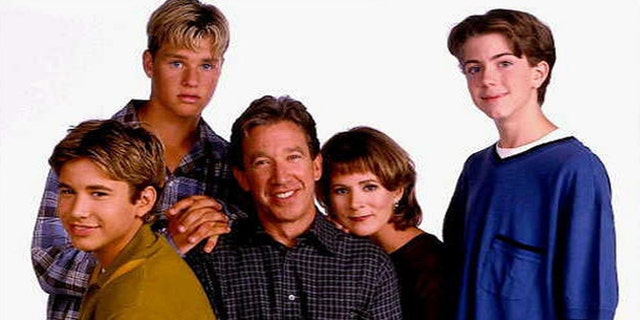 "Zachery Ty Bryan (top left) played Brad Taylor on ""Home Improvement."""
