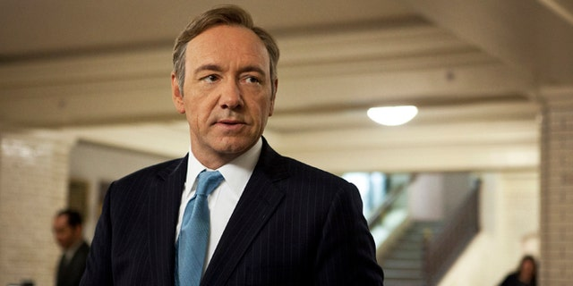 """Kevin Spacey in """"House of Cards."""""""