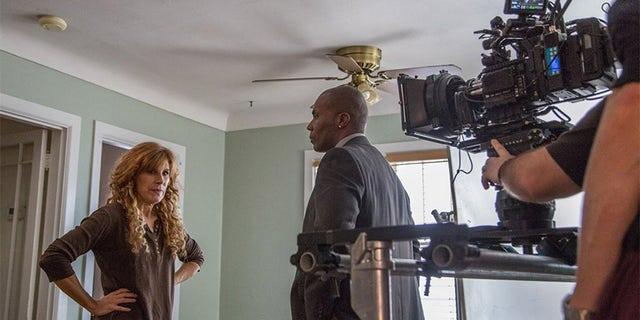 "Behind the scenes of Judy Norton's film ""Inclusion Criteria."""