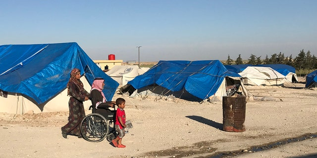 ISIS widows living in the Ein Essa displacement camp face an uncertain future.