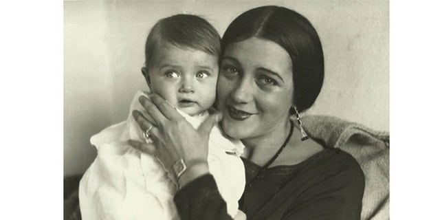Barbara La Marr with her son Donald Gallery.