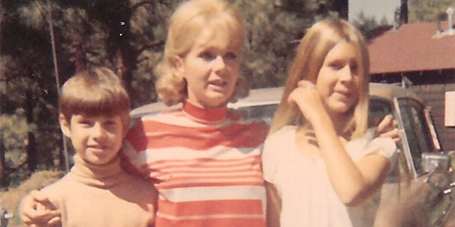 """With Mom and Carrie in Ouray, Colorado, in 1969."""