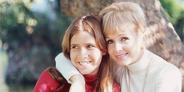 """Carrie and Mom in Europe, 1971."""