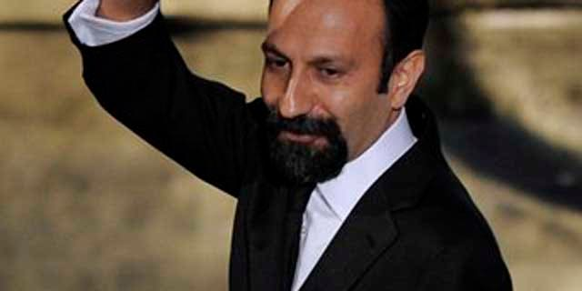 Feb. 26, 2012: Asghar Farhadi, of Iran, accepts the Oscar for best foreign language film for A Separation during the 84th Academy Awards.