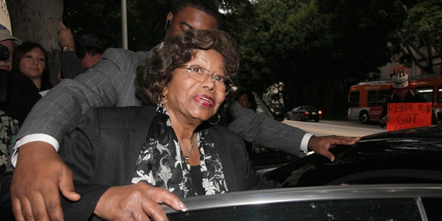 Jan. 6, 2011: In this file photo, Katherine Jackson, Michael Jackson's mother, leaves court after a hearing for Jackson's doctor, Conrad Murray, in Los Angeles.