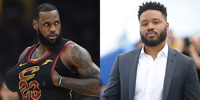 """LeBron James (left) will reportedly star in a new """"Space Jam"""" movie that will be produced by filmmaker Ryan Coogler (right)"""