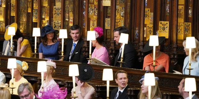 Gavankar attended the royal wedding service inside of St. Georges Chapel along side other celebrities like Amal and George Clooney.