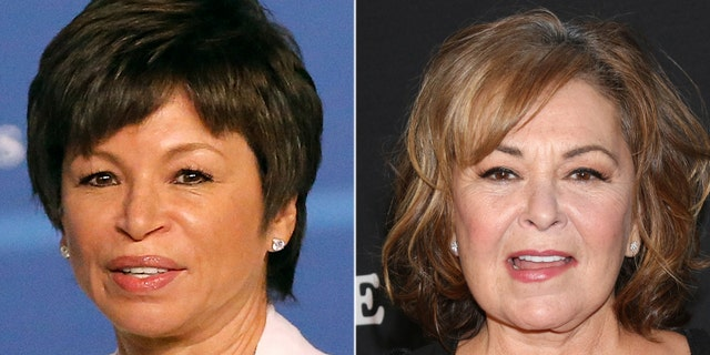 """Former Obama administration official Valerie Jarrett said Roseanne Barr's racist sentiments about her, posted to Twitter on Tuesday, should be used as a """"teaching moment."""""""