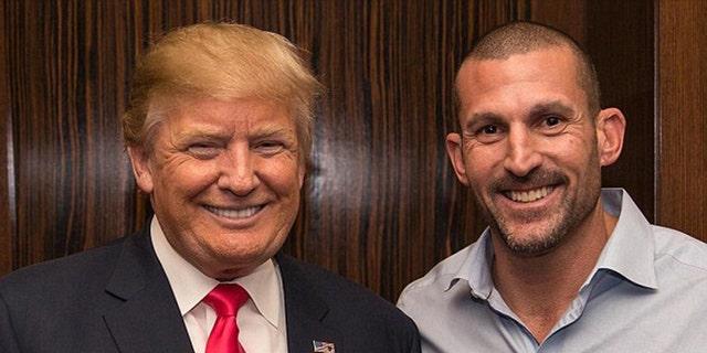 Jason Hairston had congratulated Trump's presidential win in 2016.