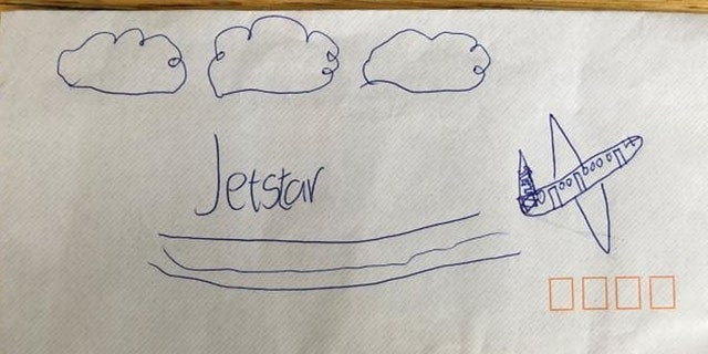 Jasper Francis had his dreams come true after Jetstar employees read the adorable letter he sent to the airliner.