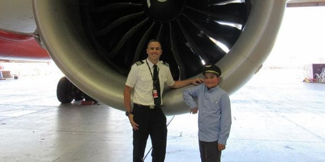 20 Jetstar employees pooled their money together to help Francis achieve his business class dreams.