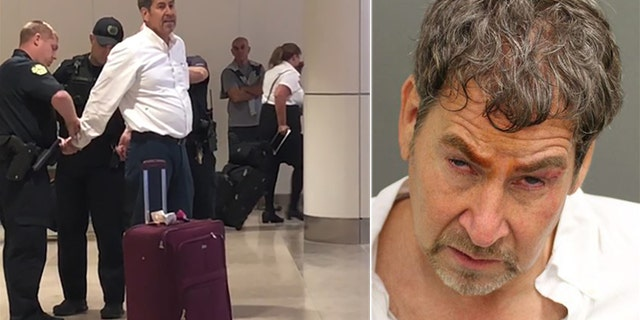 The 59-year-old staged a meltdown at an Orlando International Airport ticket counter on August 16.