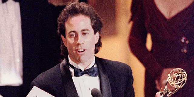 """Seinfeld, seen in this file photo from 1993, said he received an offer for a new episode of """"Seinfeld"""" in 2016 but did not consider it."""