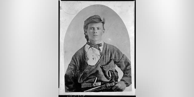 File photo - Jesse James portrait.