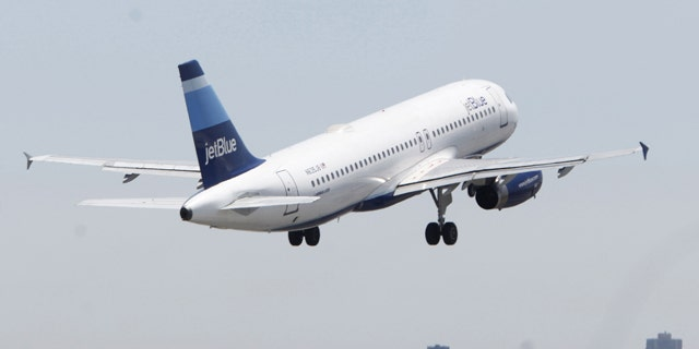 Seats on Jet Blue flights are getting smaller.