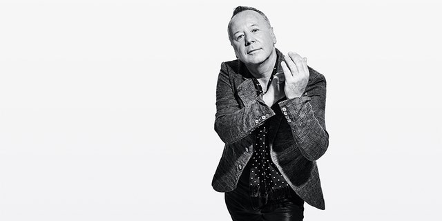 Jim Kerr of Simple Minds today.
